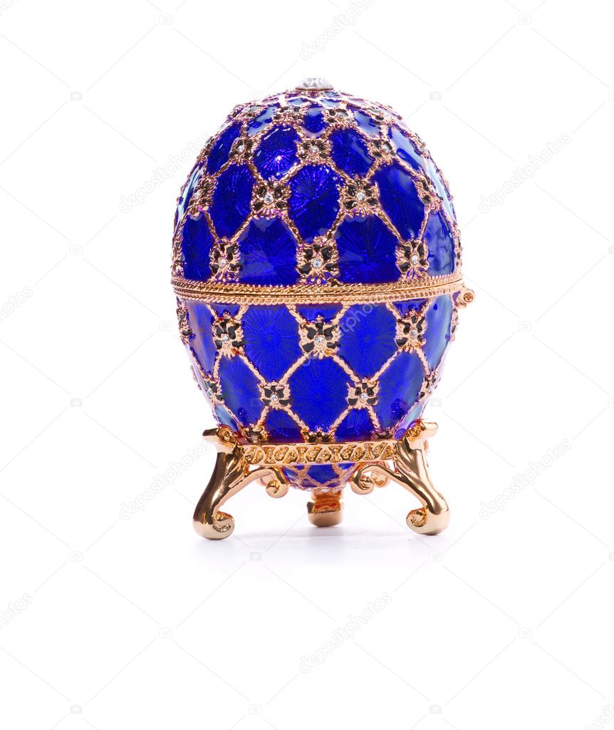 Faberge Egg Stock Photo