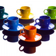 Coffee cups. — Stock Photo #6384184