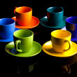 Coffee cups. — Stock Photo