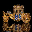 Faberge carriage. - Stock Photo