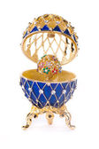 Faberge egg. — Stock Photo