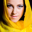 Stock Photo: Arabian beautiful woman.