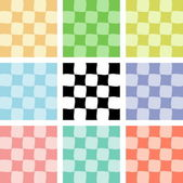Checkered backgrounds 2 — Stock Vector