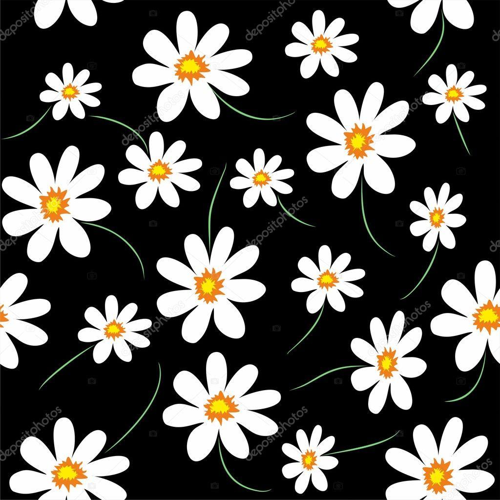 Daisy arka plan — Stok Vektör © Artulina1 #6666903