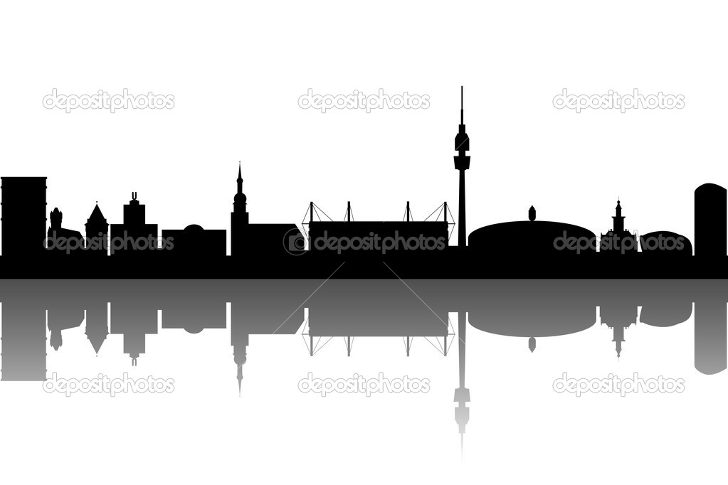 Dortmund Skyline abstract — Stock Vector #5622585