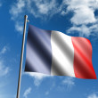 Flag of France — Stock Photo