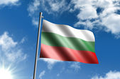 Flag of Bulgaria — Stock Photo