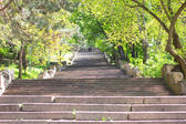 Staircase in the park — Stock Photo