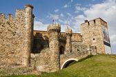 Entrada castillo — Stock Photo