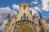 Fachada Palacio de Gaudi — Stock Photo
