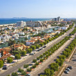 Royalty-Free Stock Photo: Vista panoramica de Empuriabrava, Cataluña, España