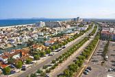 Vista panoramica de Empuriabrava, Cataluña, España — Stock Photo