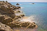 Zona costera en Platja D'Aro (Costa Brava), España — Stock Photo