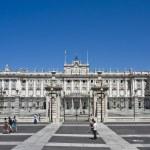 Palacio de Oriente, Madrid — Stock Photo