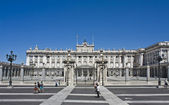 Palacio de Oriente, Madrid — Stock Photo