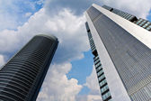 Rascacielos Madrid — Stock Photo