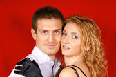 Beautiful young couple — Stock Photo
