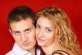 爱美丽年轻夫妇 — 图库照片
