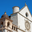 Papal Basilica of Saint Francis of Assisi - Stock Photo