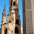 Kaiser Wilhelm Memorial Church in Berlin — Stock Photo #5760230