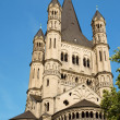 Great Saint Martin Church in Cologne — Foto Stock