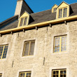 Old stone house in Quebec City - Stock fotografie