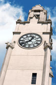 Montreal clock tower — Stock Photo