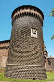 Castello Sforzesco in Milan — Stock Photo