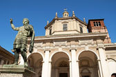 Basilica of Saint Lawrence (San Lorenzo Maggiore) in Milan — Stock Photo