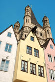 Glimpse of old town Cologne in Germany — Stock Photo
