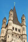 Iglesia de san martín el grande — Foto de Stock