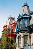 Victorian houses — Stock Photo