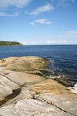 The coast near Tadoussac — Stock Photo
