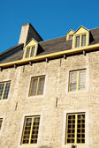 Old stone house in Quebec City — Stock Photo