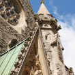 Christ Church Cathedral in Montreal — Stock Photo