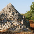 Ruins of trulli house - Stock Photo