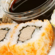Stock Photo: Close-up of Maki sushi rolls