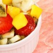 Fresh fruit salad close-up — Stock Photo #5819602