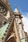 Christ Church Cathedral in Montreal — Foto Stock