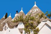 Trulli of Alberobello in Apulia — Stock Photo