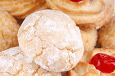 Sicilian almond pastries — Stock Photo