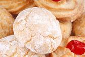 Sicilian almond pastries — Stock Photo