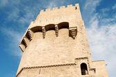 Torres de Serranos, Valencia — Stock Photo