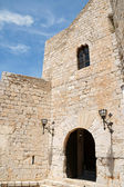 Pope Luna's Castle in Peniscola, Spain — Stock Photo