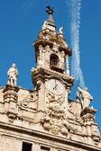 バレンシアでサントス フアネス教会 — ストック写真