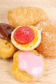 Assorted tea cakes — Stock Photo