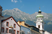 Innsbruck in Austria — Stock Photo