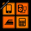 Electronics icon set — Stock Vector #5669480