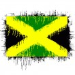 Stock Vector: Flag of jamaica