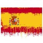 Bandiera della Spagna — Vettoriale Stock